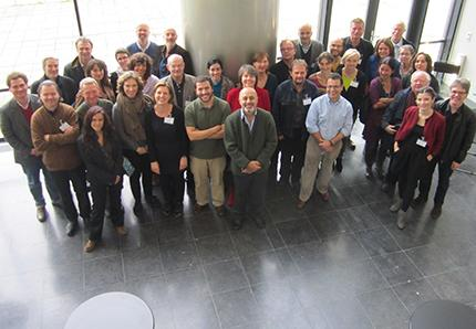 Group picture at the IISH, October 2013